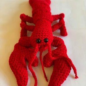 Red Labstor Crochet Amigurumi